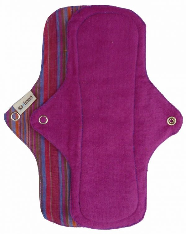 Eco Femme Pink Organic Cotton Day Pad