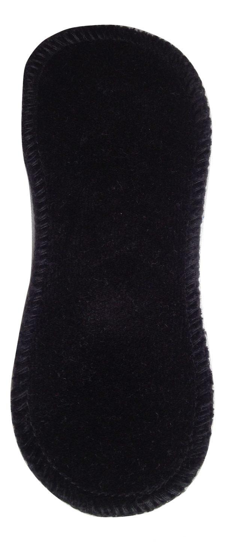 Honour Your Flow Black Organic Cotton Velour Micro Pad