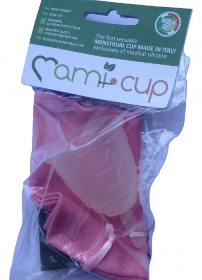 Mamicup Large Clear Menstrual Cup