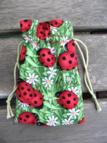 Lovealittle Ladybug Menstrual Cup Bag