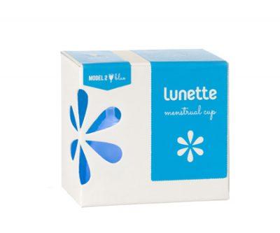 Lunette Blue Menstrual Cup Size 2 - Selene