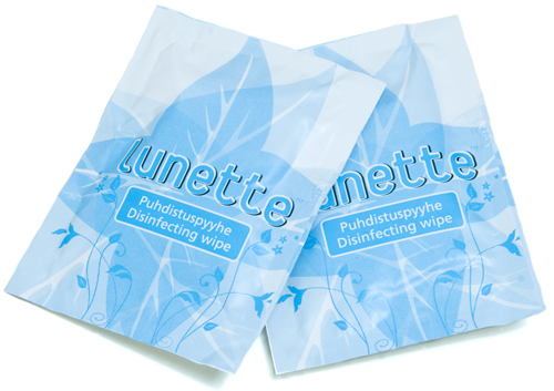 Lunette Cup Pair of Wipes