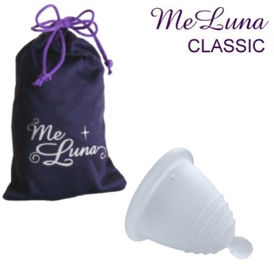 Me Luna Clear Classic Shorty Menstrual Cup