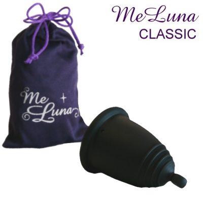 Me Luna Black Classic Menstrual Cup