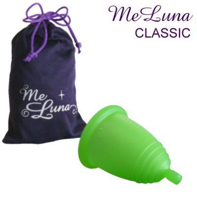 Me Luna Green Classic Menstrual Cup