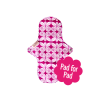Eco Femme Pink Print 100% Organic Cotton Day Pad