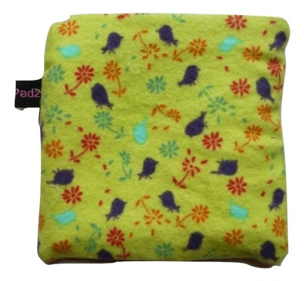 Angelpadz Blueberry Posies Pad Purse