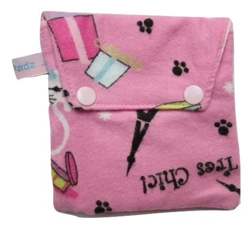 Angelpadz Tres Chic Popper Pad Purse