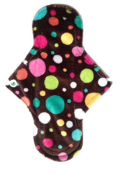Eco Rainbow Dotty Plush 8'' Regular Pad