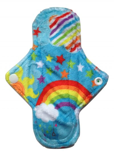 Eco Rainbow Best Night Ever Aqua Plush 8'' Regular Pad