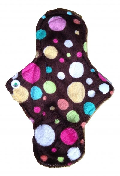 Eco Rainbow Dotty Plush 7'' Mini Pad