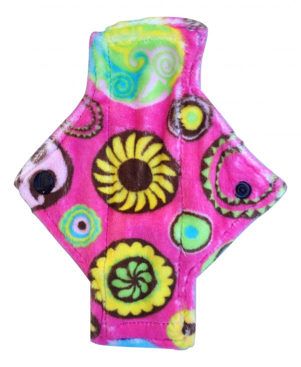Sweet Flowers on Pink Pantyliner