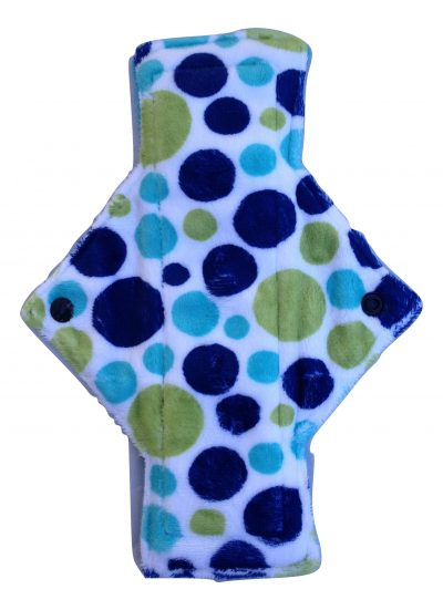 Treehugger Dotty Blue Green Heavy Flow Day Pad