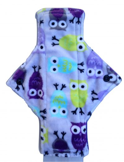 Treehugger Pastel Owls Plush Light Flow Day Pad