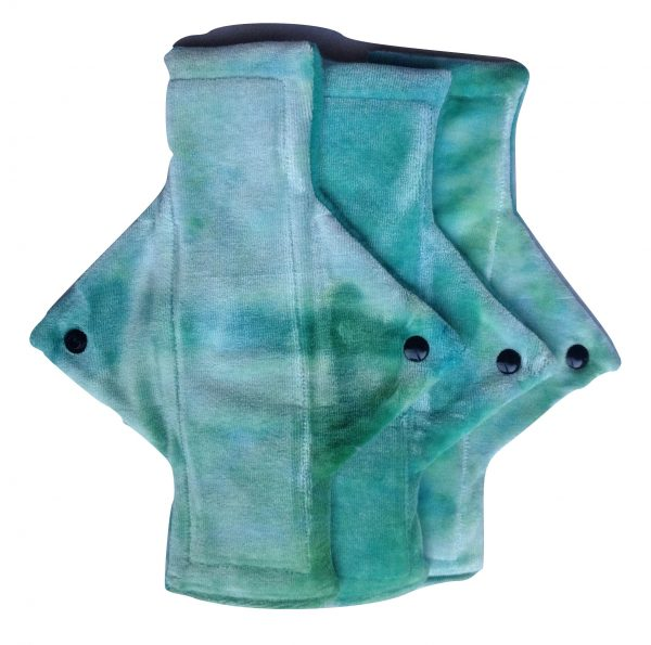 Treehugger Water Green Bamboo Velour Light Flow Day Pad