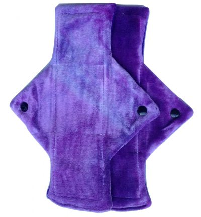 Treehugger Purple Bamboo Velour Light Flow Day Pad