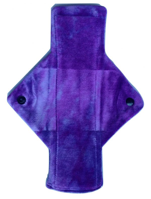Treehugger Purple Bamboo Velour Heavy Flow Day Pad