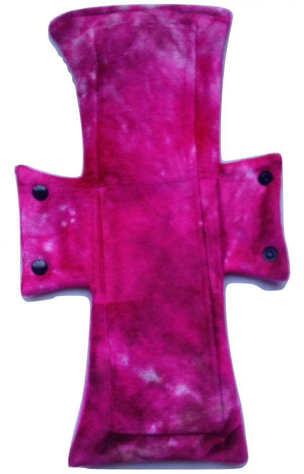 Treehugger Pink Neon Bamboo Velour Night/Postpartum Pad