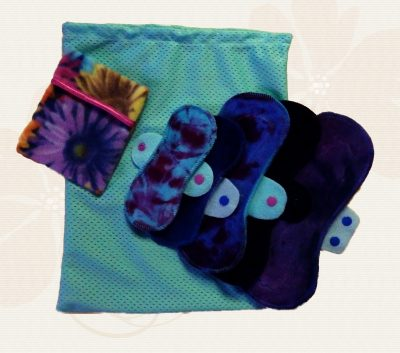 Honour Your Flow Size 6 - 8 Mixed Colours Pads Pack