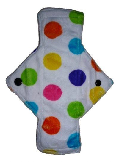 Treehugger Multi Dotty Plush Light Flow Day Pad