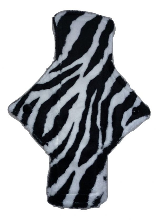 Treehugger Zebra Plush Heavy Flow Day Pad