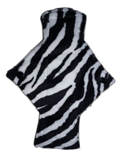 Treehugger Zebra Plush Light Flow Day Pad