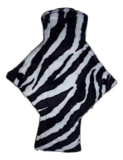 Treehugger Zebra Plush Light Flow Day Pad