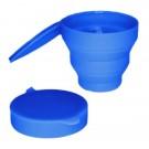 Me Luna Foldable/Popup Blue Sterilising Cup