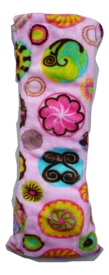 Treehugger Sweet Flowers on Pink Plush Night/Postpartum Pad