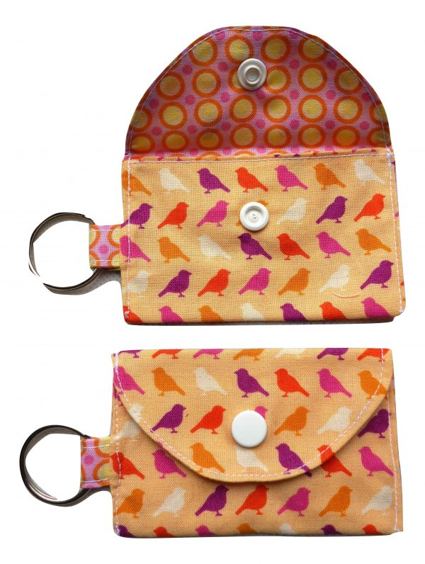 Jimmy Riddles Birds Keyring Purse