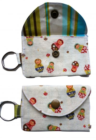 Jimmy Riddles Russian Dolls Keyring Purse