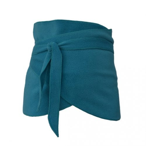 Turquoise Fleece Belly Blanket - Made to Order