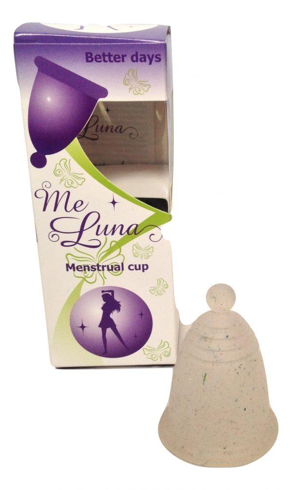Me Luna Multi Glitter Classic Small Menstrual Cup
