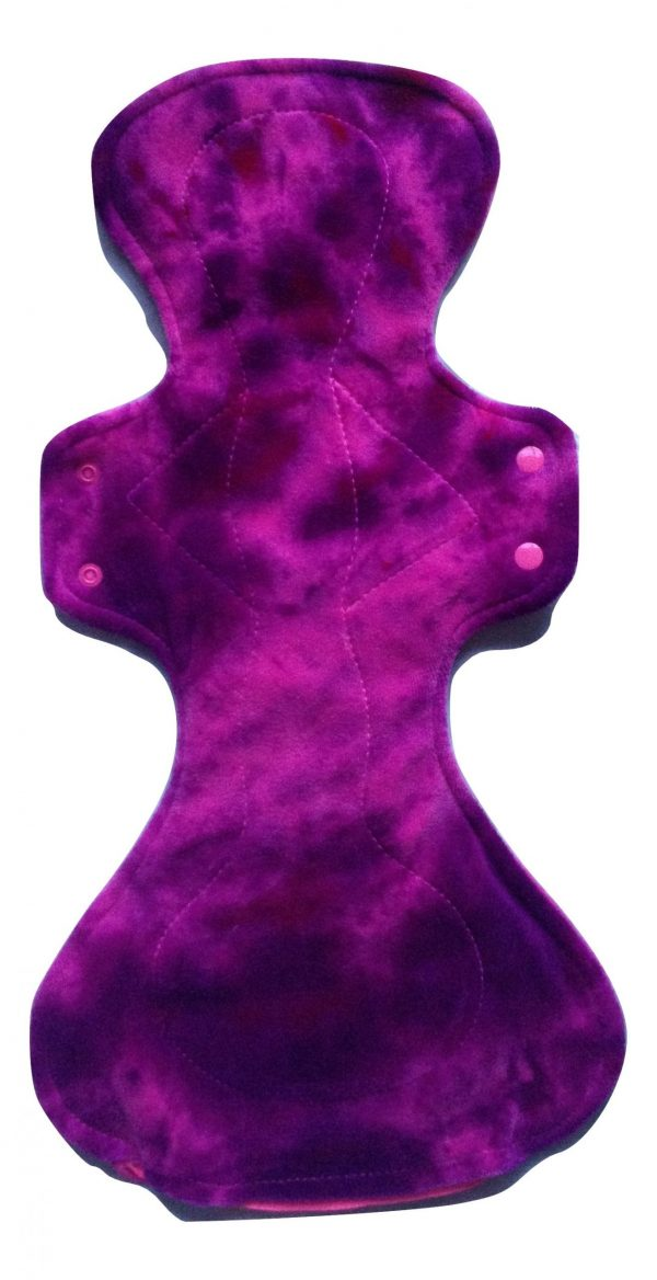 Honour Your Flow Purple Sundae Organic Cotton Velour Mega Pad