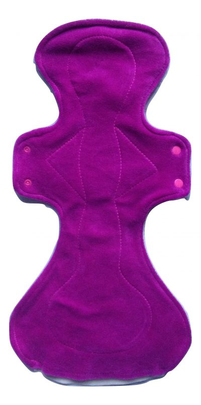 Honour Your Flow Candy Floss Organic Cotton Velour Mega Pad