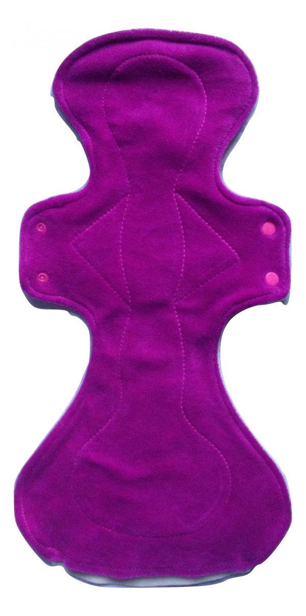 Honour Your Flow Candy Floss Organic Cotton Velour Mega Pad