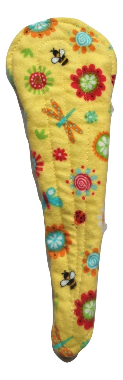 Angelpadz Flowers Bees and Butterflies Cotton Flannel Thong Liner