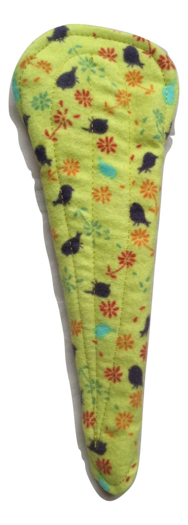 Angelpadz Blueberry Posy Cotton Flannel Thong Liner