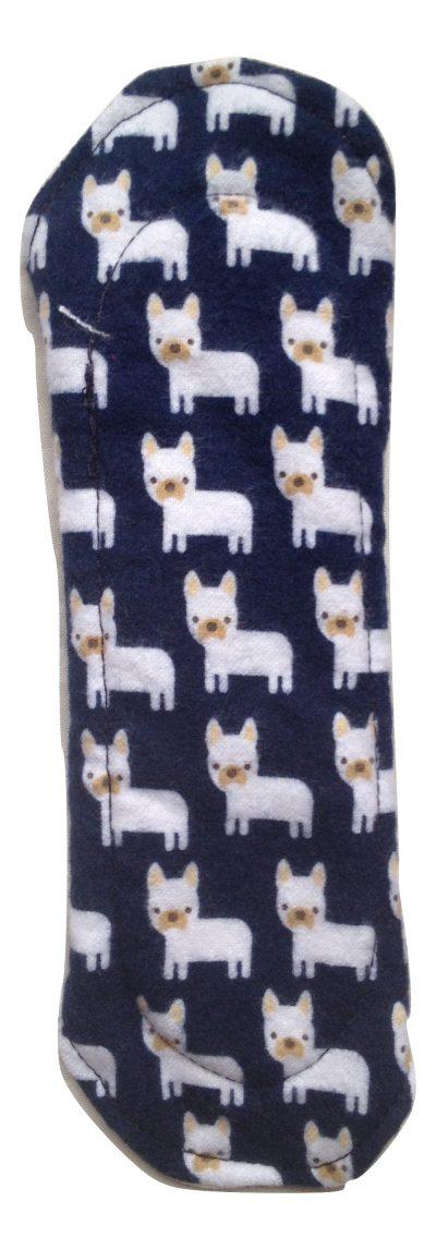 Angelpadz Pug Dogs Cotton Flannel Pantyliner