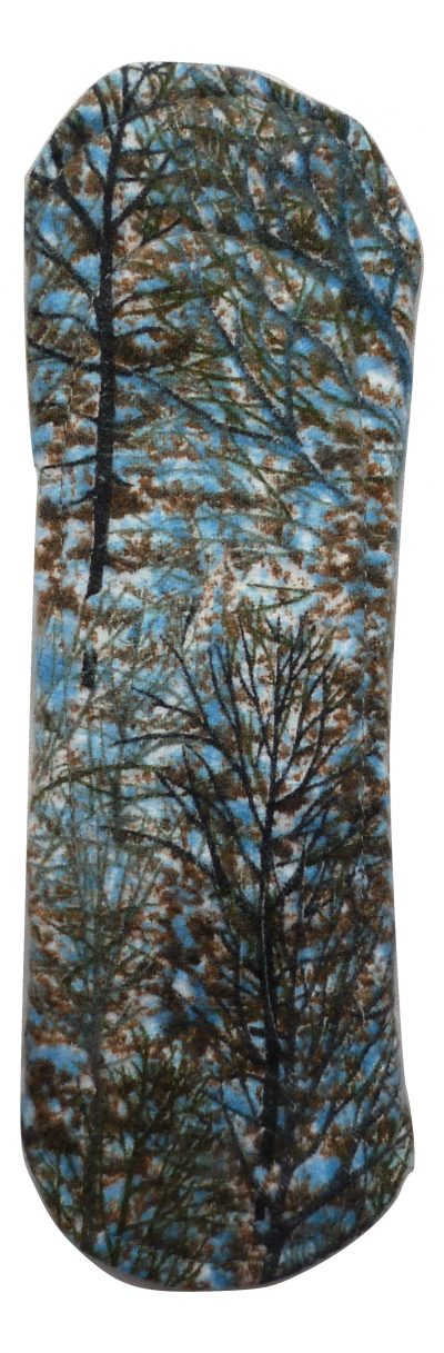 Angelpadz Winter Trees Cotton Flannel Regular Pad -Fleece