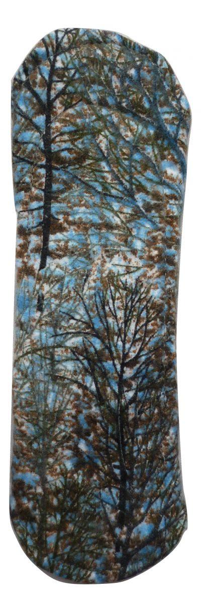 Angelpadz Winter Trees Cotton Flannel Regular Pad -PUL