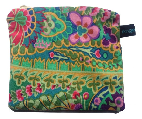 Angelpadz Green Jungle Pad Purse