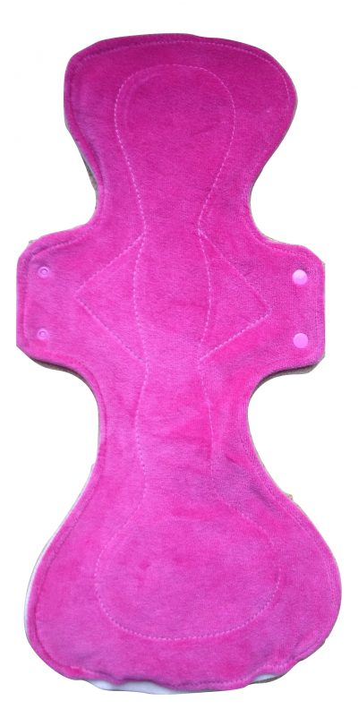 Honour Your Flow Candy Floss Mega Pad -Wool Back
