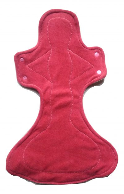 Honour Your Flow Dusky Rose Night Angel Pad - Wool Back