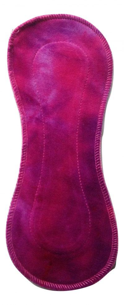 Honour Your Flow Purple Sundae Organic Cotton Velour Regular Pad - Wingless