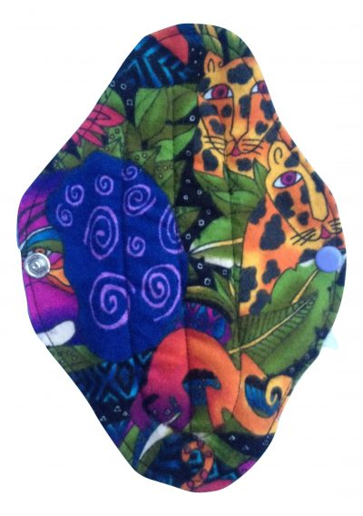 Angelpadz Wild Cotton Flannel Regular Pad -PUL