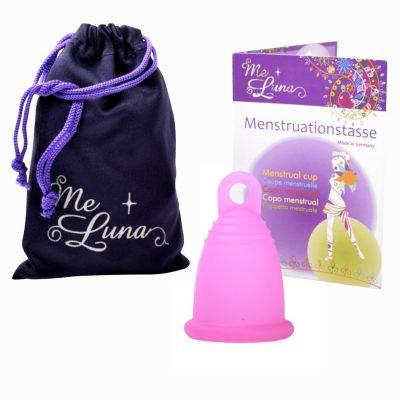 Me Luna Fuchsia Sport Large Menstrual Cup