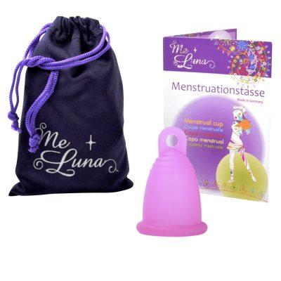 Me Luna Fuchsia Sport Medium Menstrual Cup