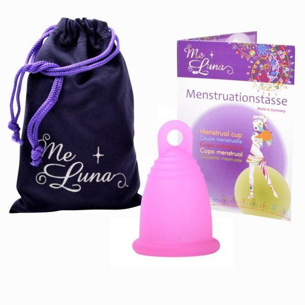 Me Luna Fuchsia Sport XL Menstrual Cup