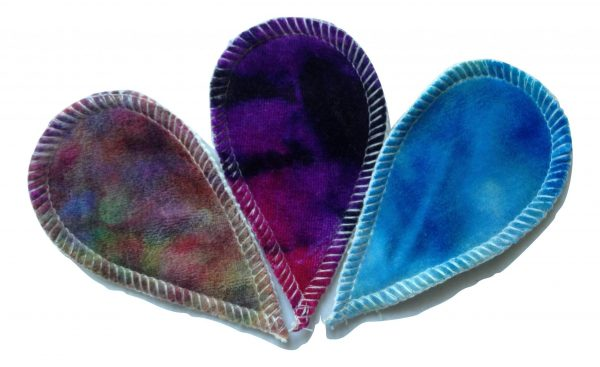 Homestead Emporium Rainbow of Fluff Folds - Interlabial Pads (Set of 3)